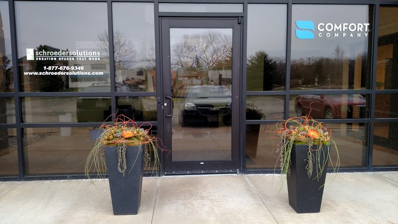 Outdoor Commercial Planters Exterior planters milwaukee wi decorative exterior planters exterior planters milwaukee wi workwithnaturefo